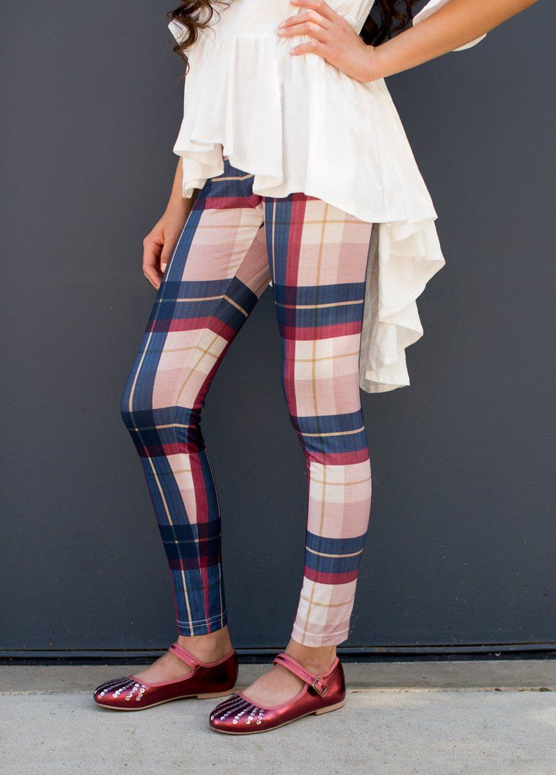 Clementine Set in Plaid