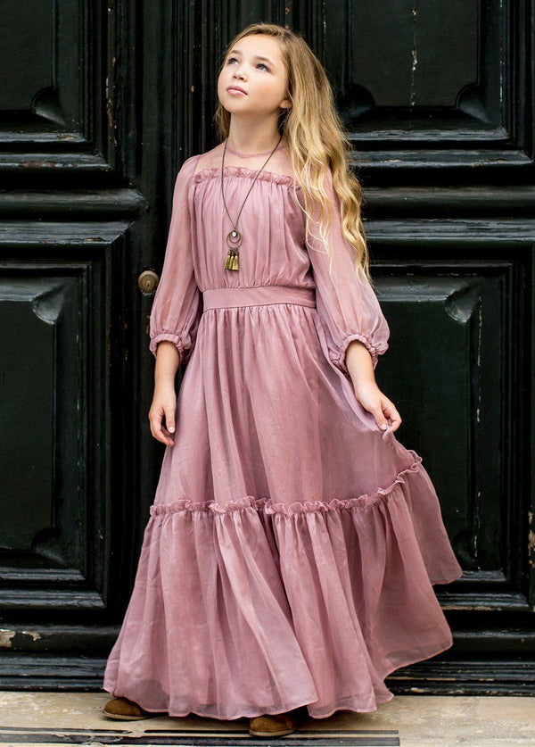 Daphne Maxi Dress in Primrose