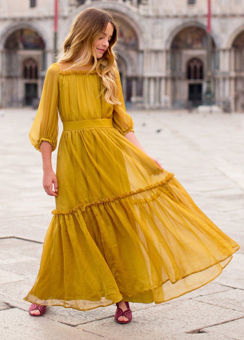*NEW* Daphne Maxi Dress in Marigold