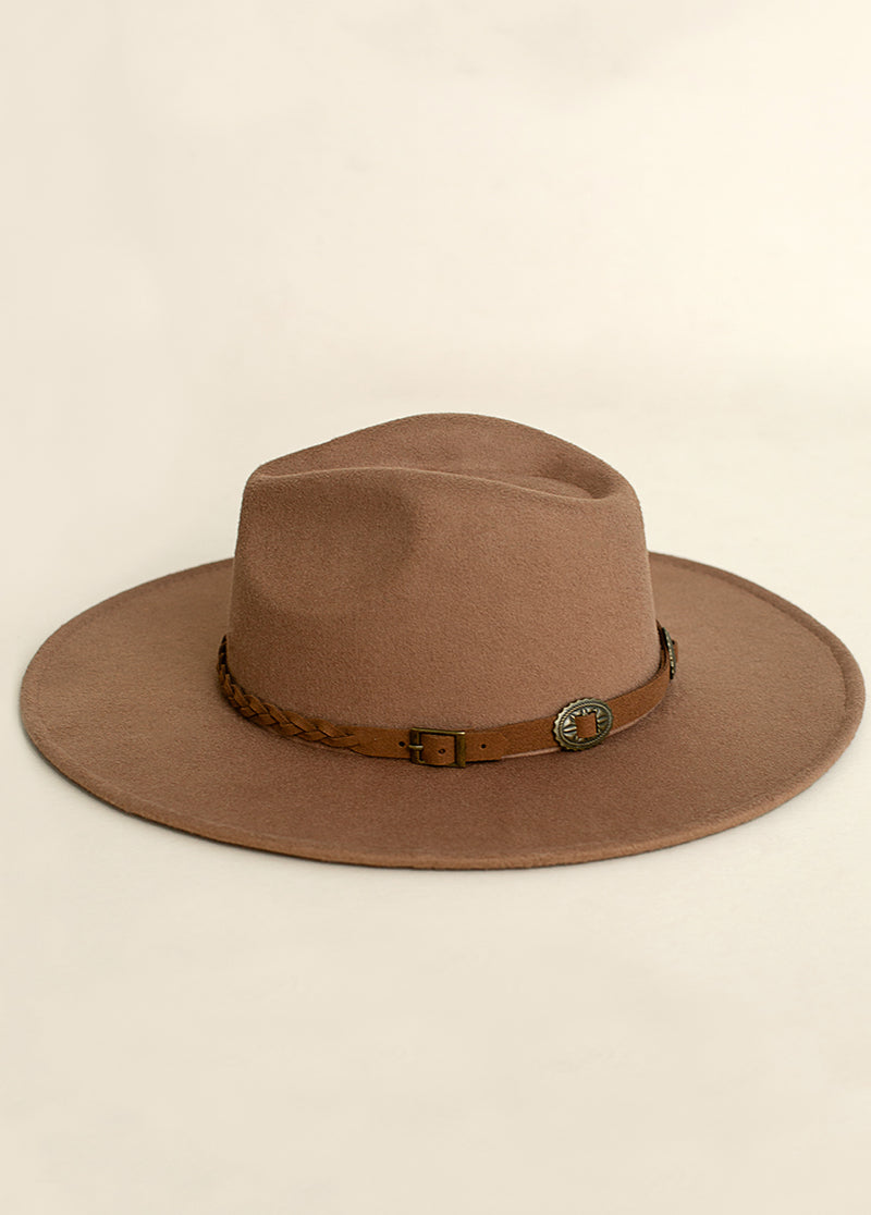 *NEW* Darcy Hat in Brown