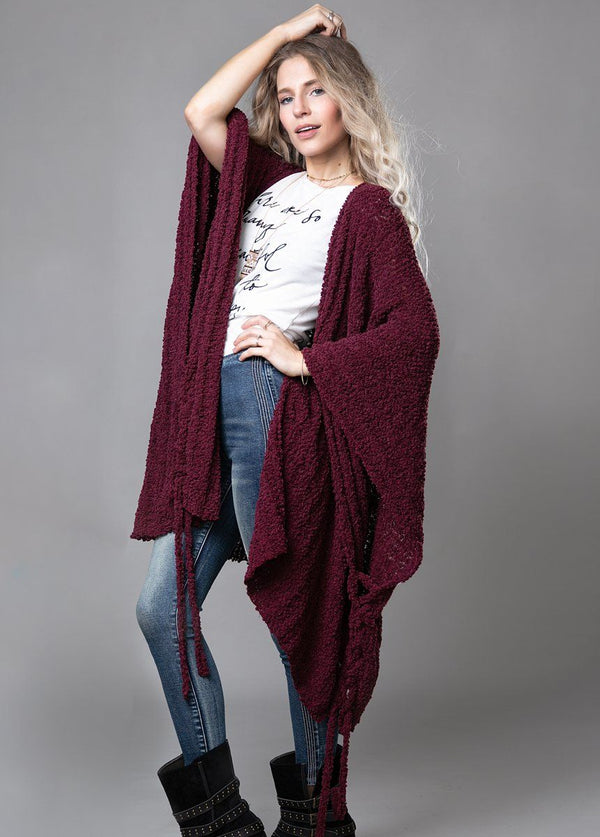 *NEW* Elana Cardigan in Plum