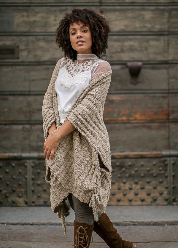 *NEW* Elana Cardigan in Taupe