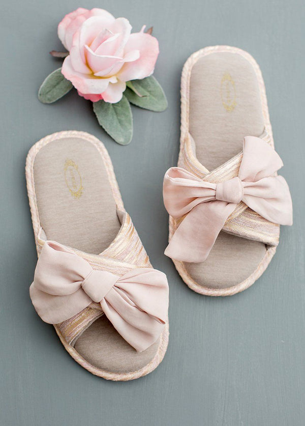 *NEW* Elene Slippers in Blush