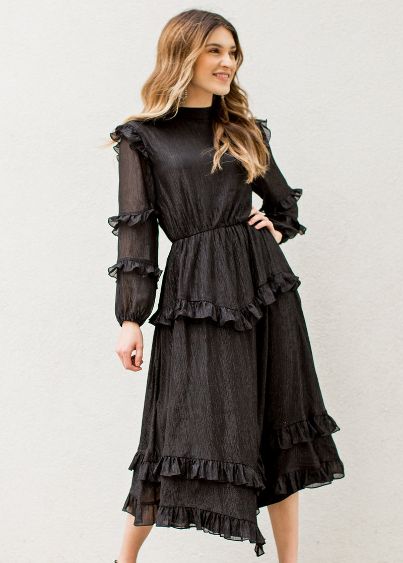 Elin Dress in Black