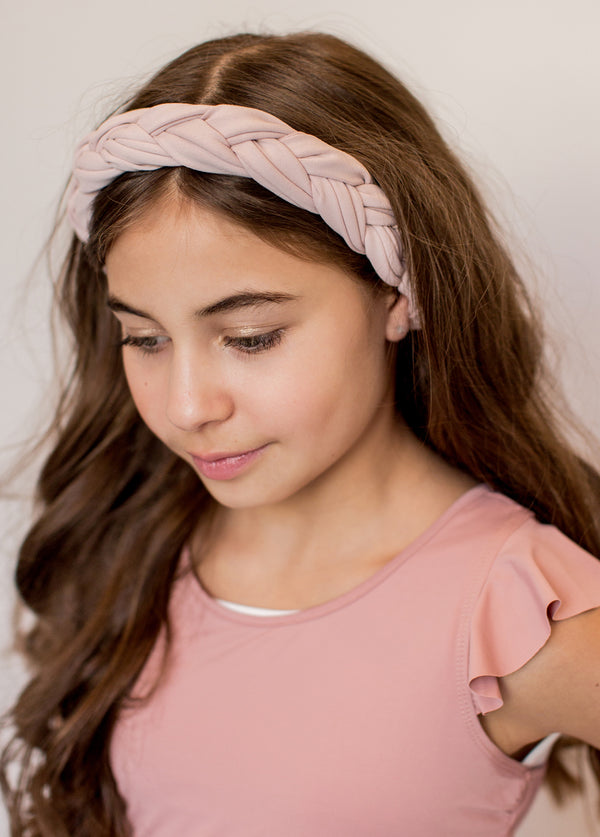 Elisa Headband in Lilac Blush