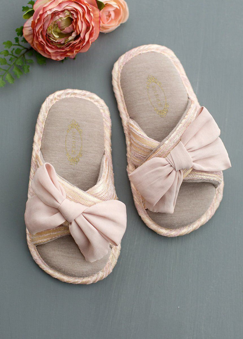Elissa Slipper in Blush
