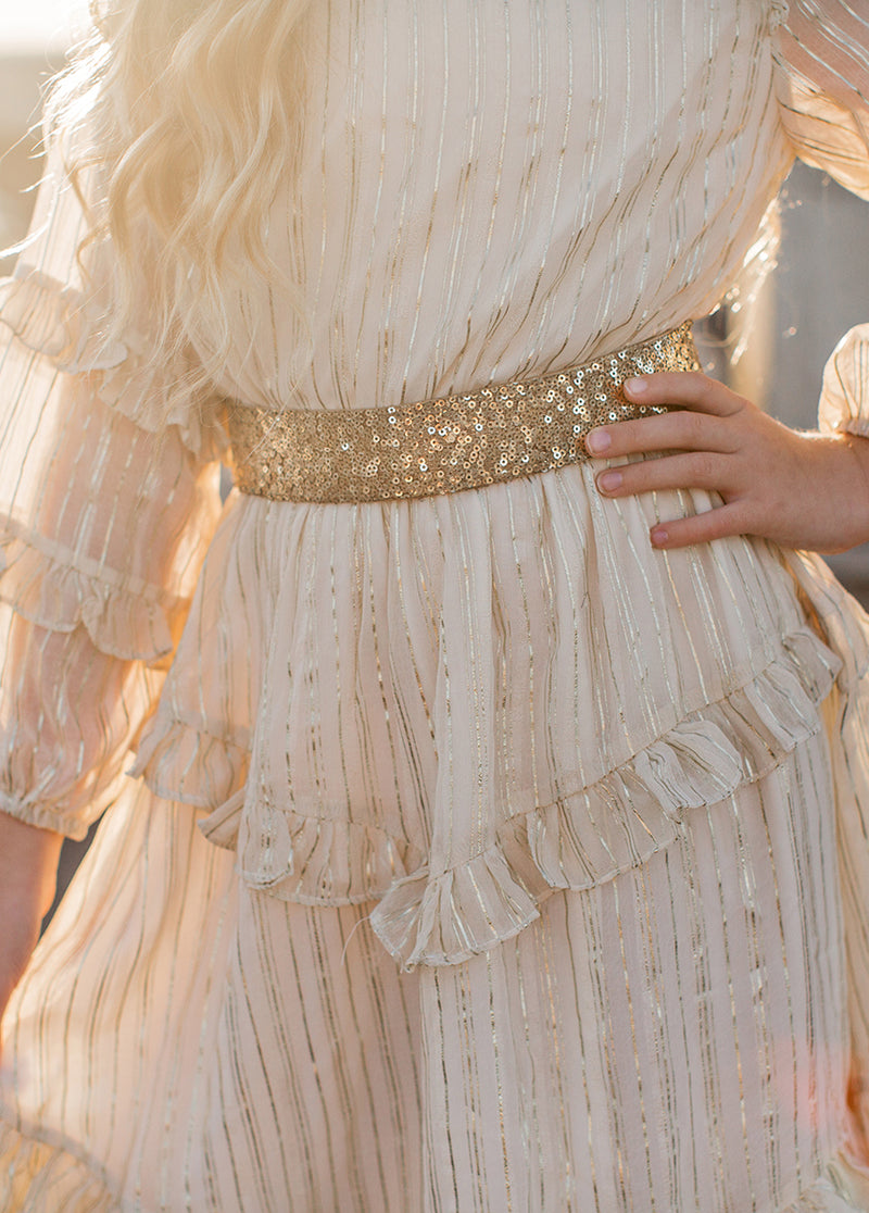 Elodie Dress in Gold