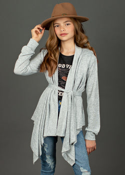 *NEW* Emmalyn Cardigan in Heather Gray