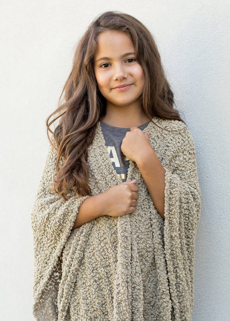 Etta Cardigan in Taupe