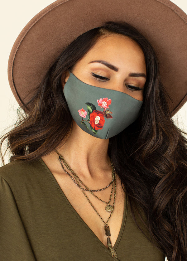 *NEW* Women's Evanthe Mask in Green