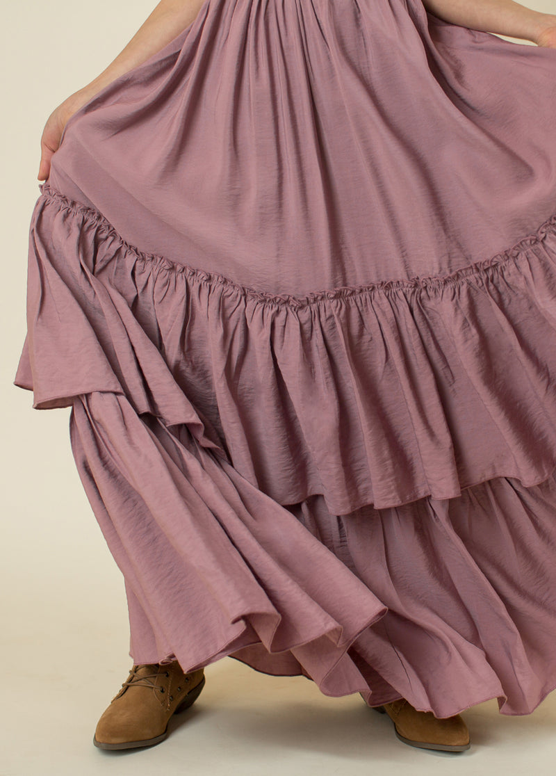 *NEW* Evony Dress in Iris Mauve