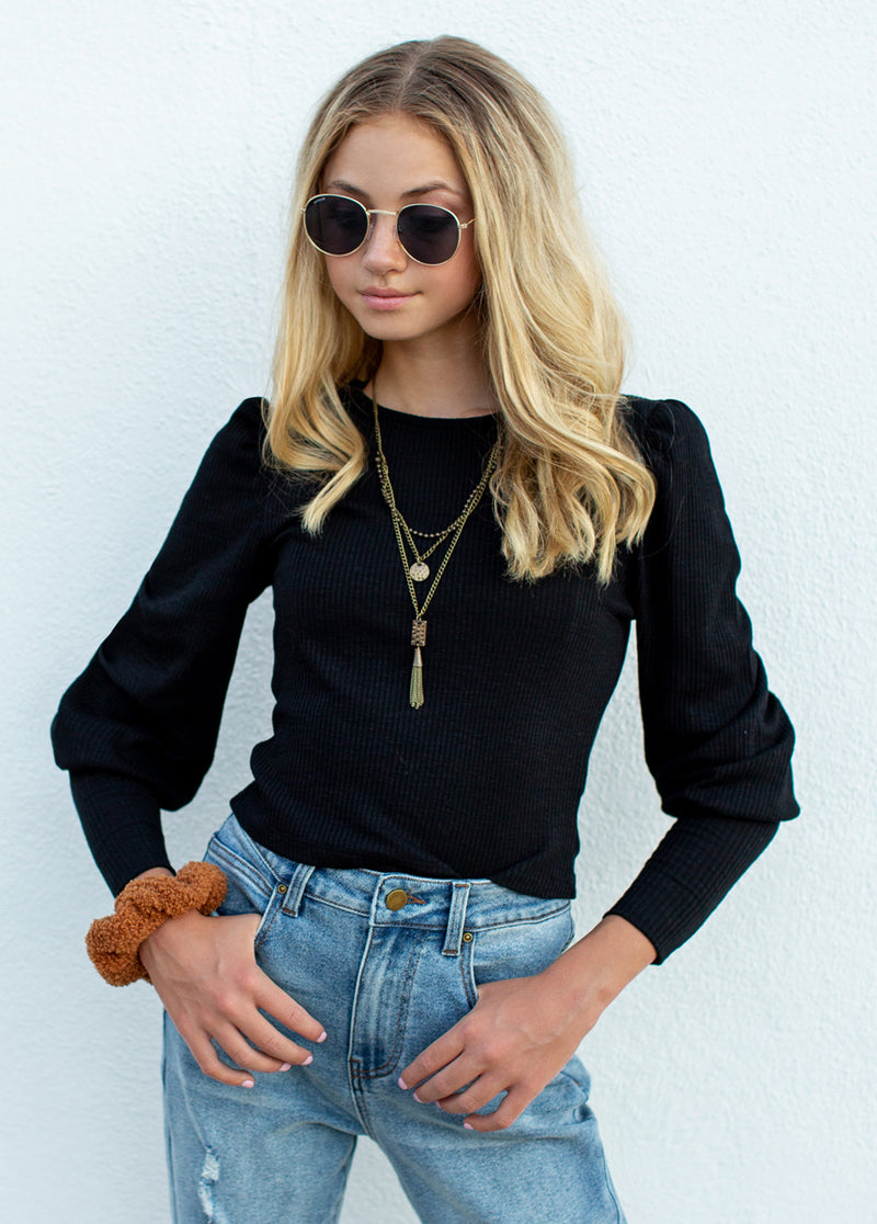 *NEW* Eve Top in Black