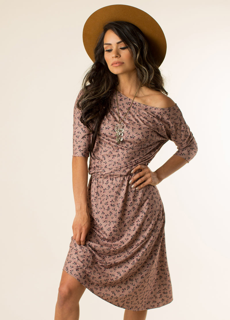 Fallyn Dress in Ditsy Floral