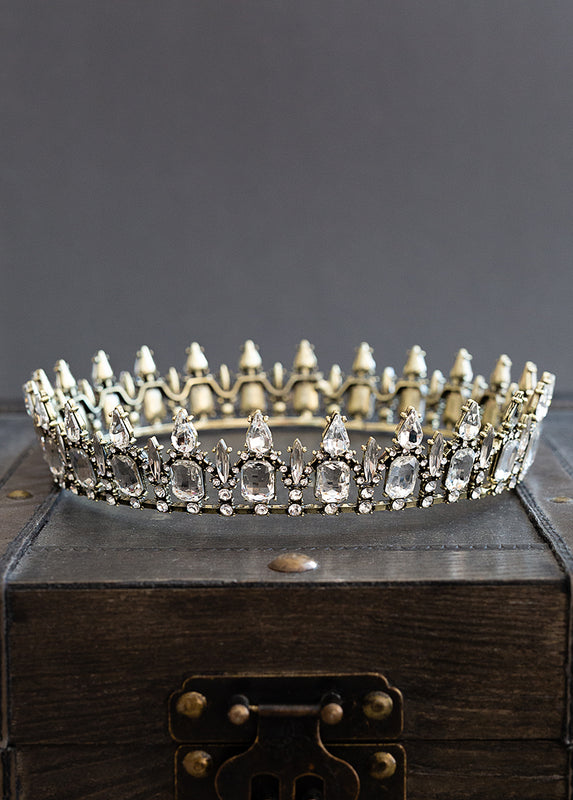 *NEW* Fantasia Crown in Antique Brass