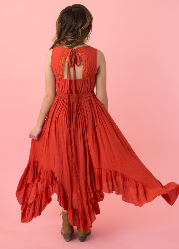 *NEW* Gemma Dress in Persimmon