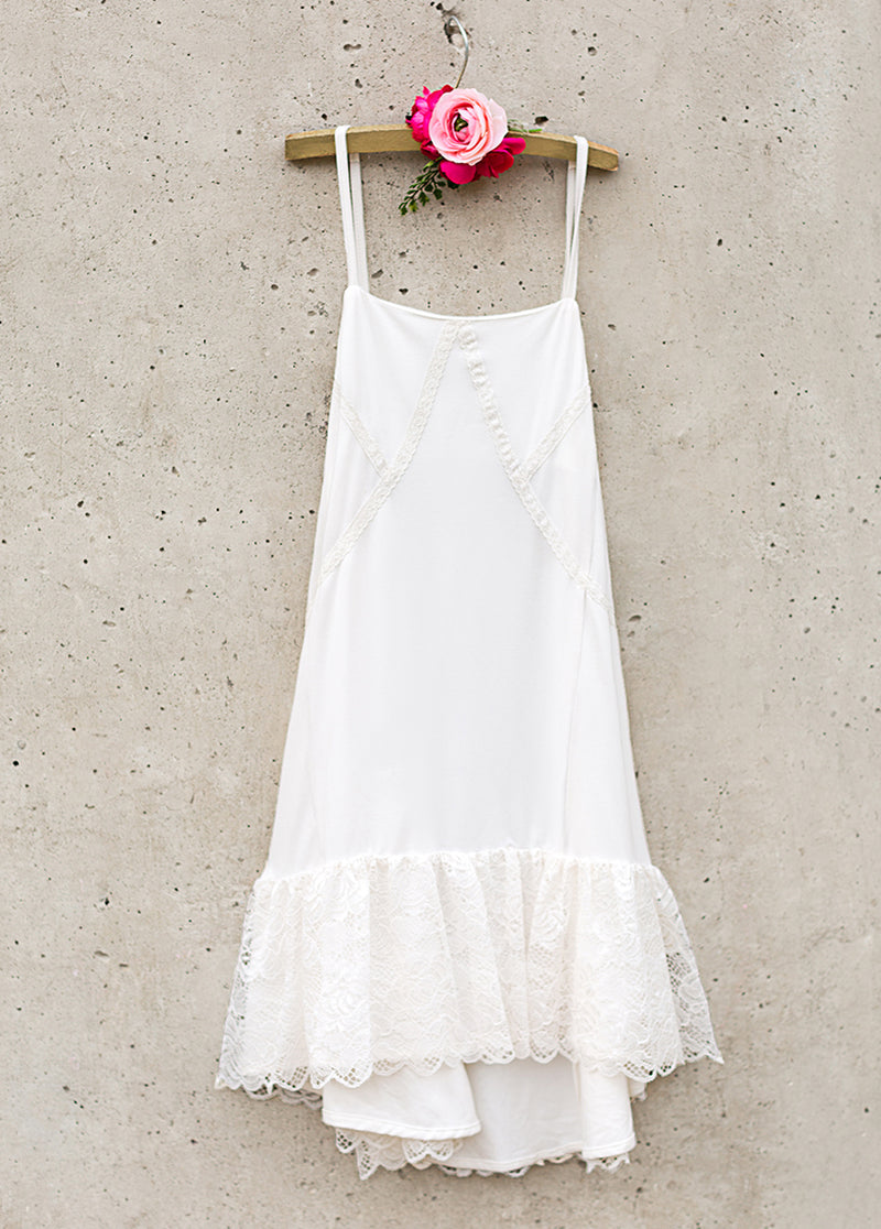 Gracelyn Slip Dress in Cream