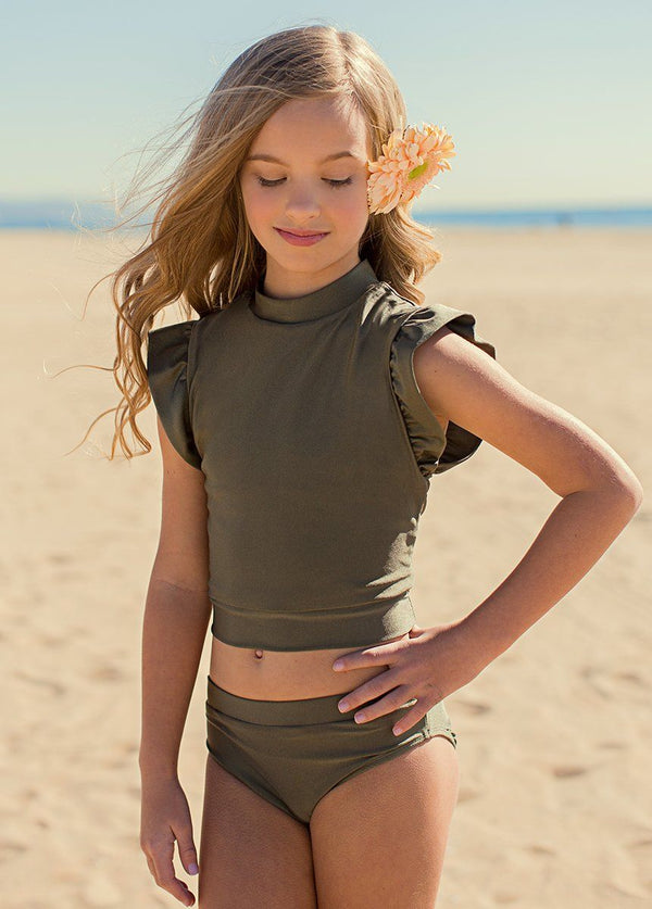 *NEW* Halley Two-Piece Swimsuit in Olive