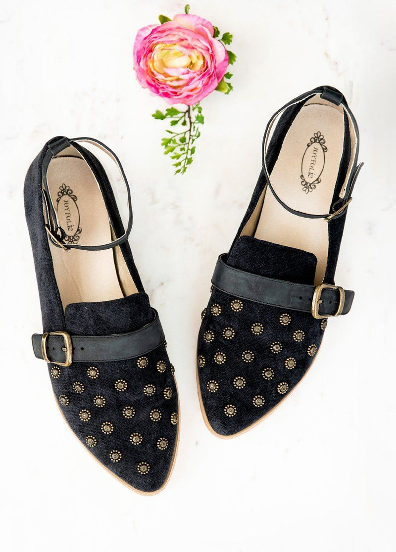 *NEW* Harlow Flat in Black