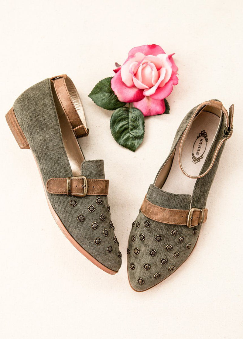*NEW* Harlow Flat in Ivy Green