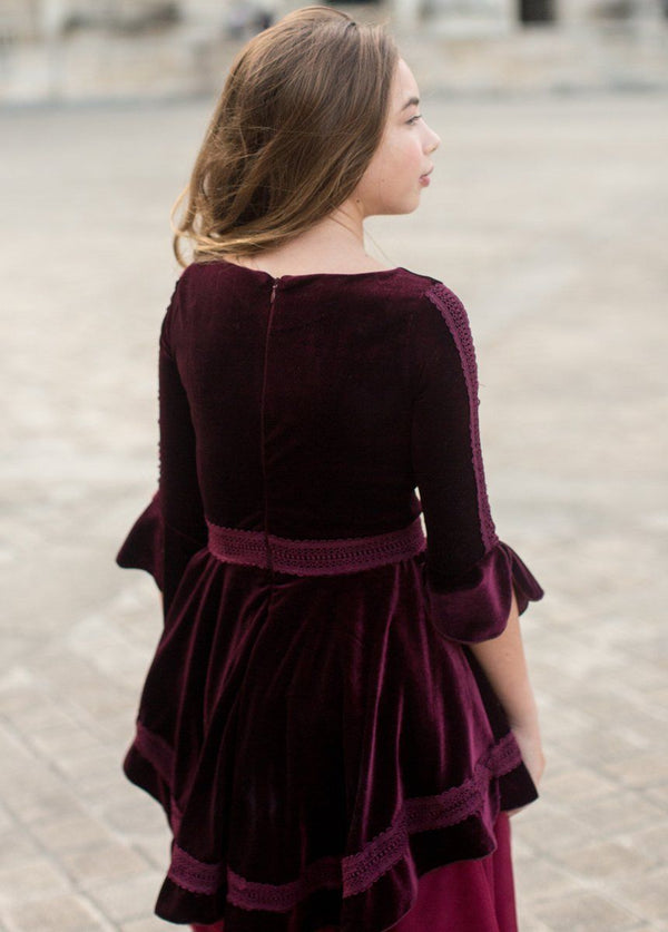 *NEW* Ida Dress in Plum