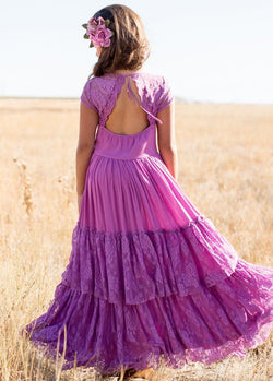 Iris Dress in Orchid