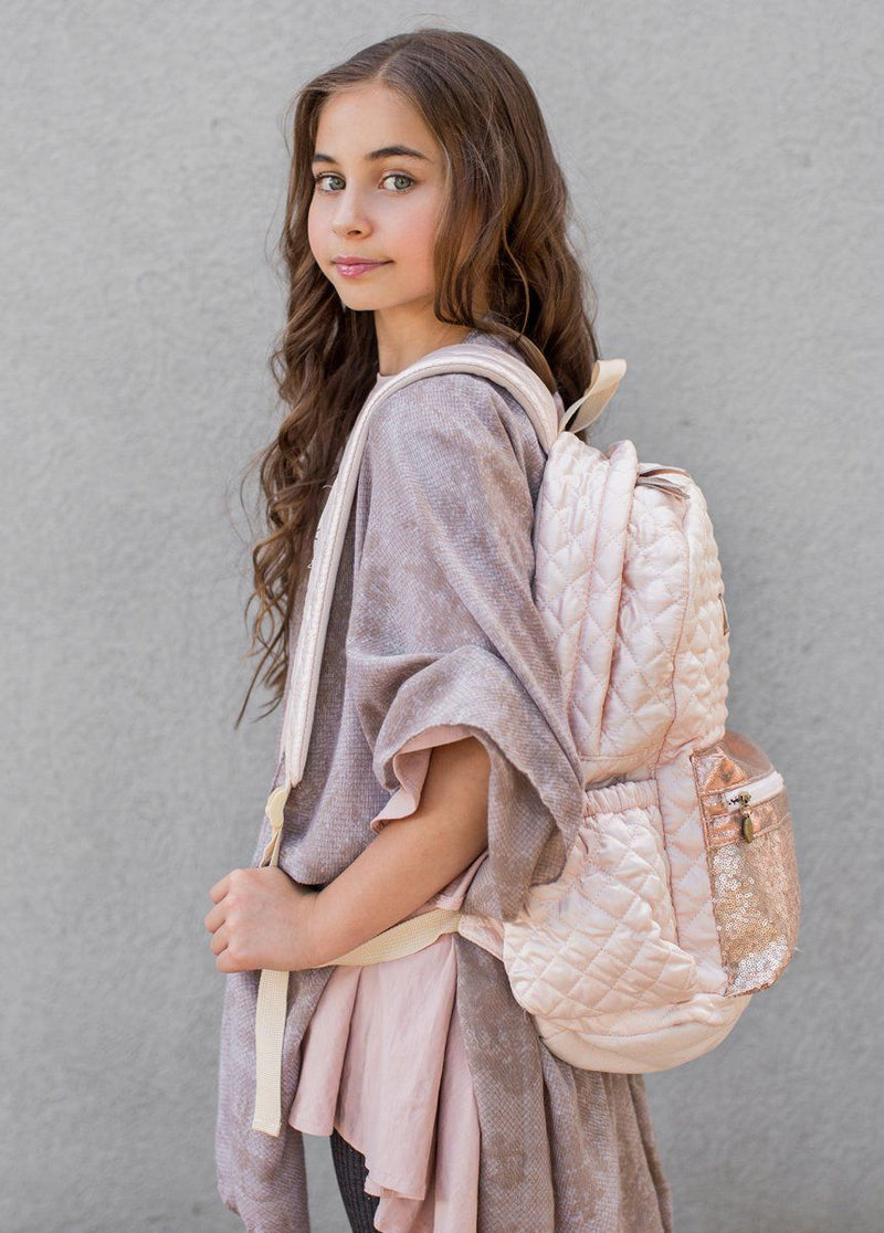 Fifi Backpack in Nude Pink