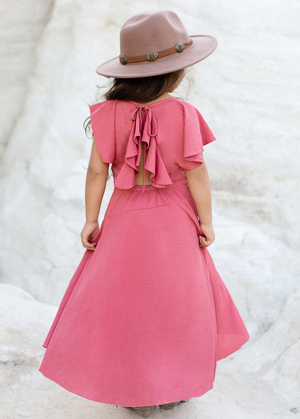 Jeselle Dress in Rose