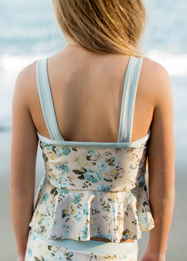 Jolene Swimsuit in Turquoise Floral