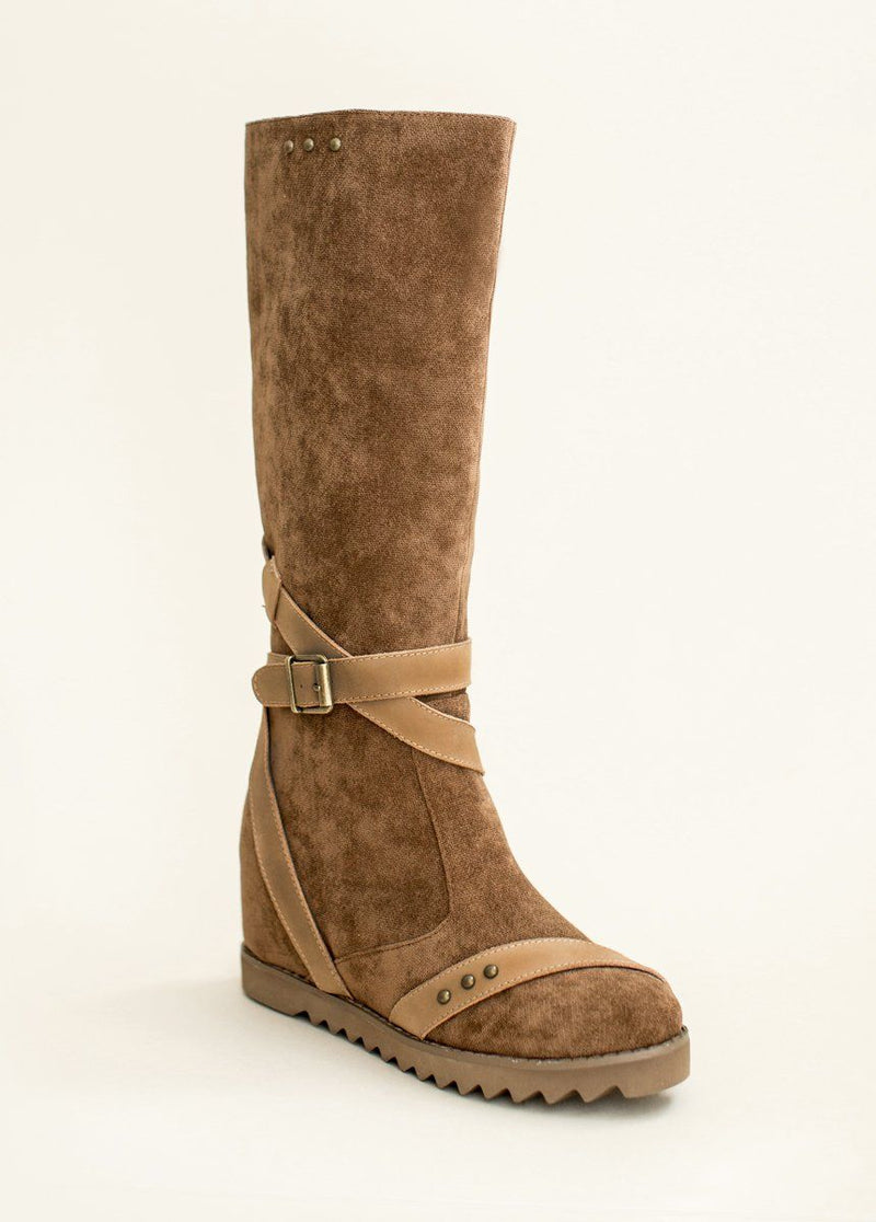 *Jules Wedge Boot in Sable*