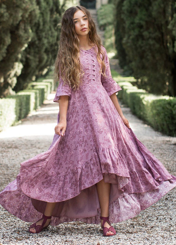 *NEW* Kastel Dress in Lilac Floral