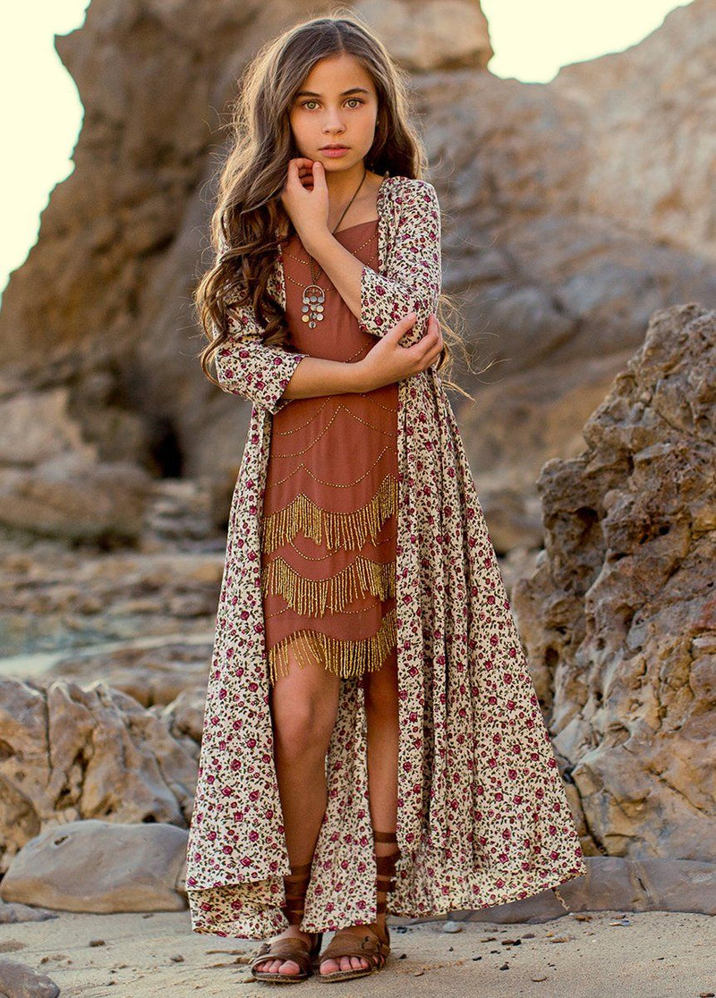 Katherine Duster in Moroccan Floral