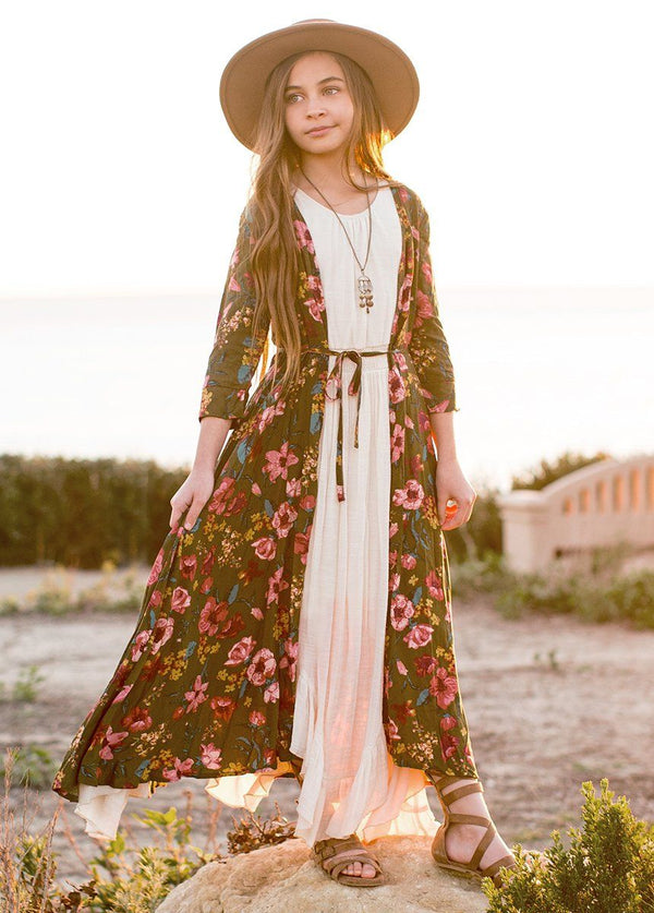 Katherine Duster in Lily Floral