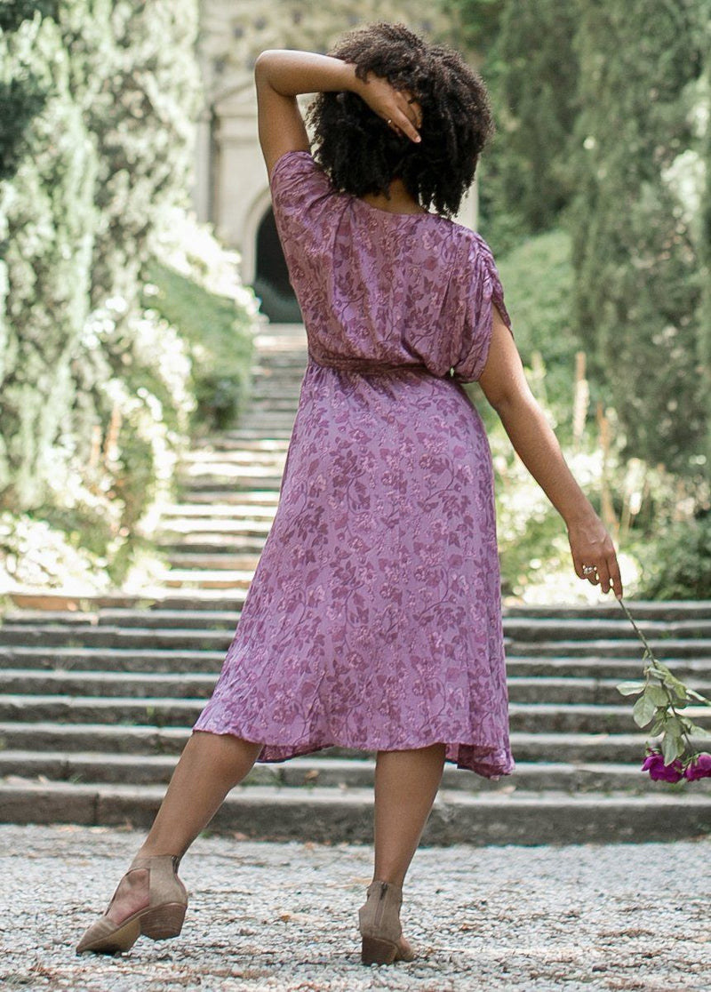Katia Dress in Lilac Floral