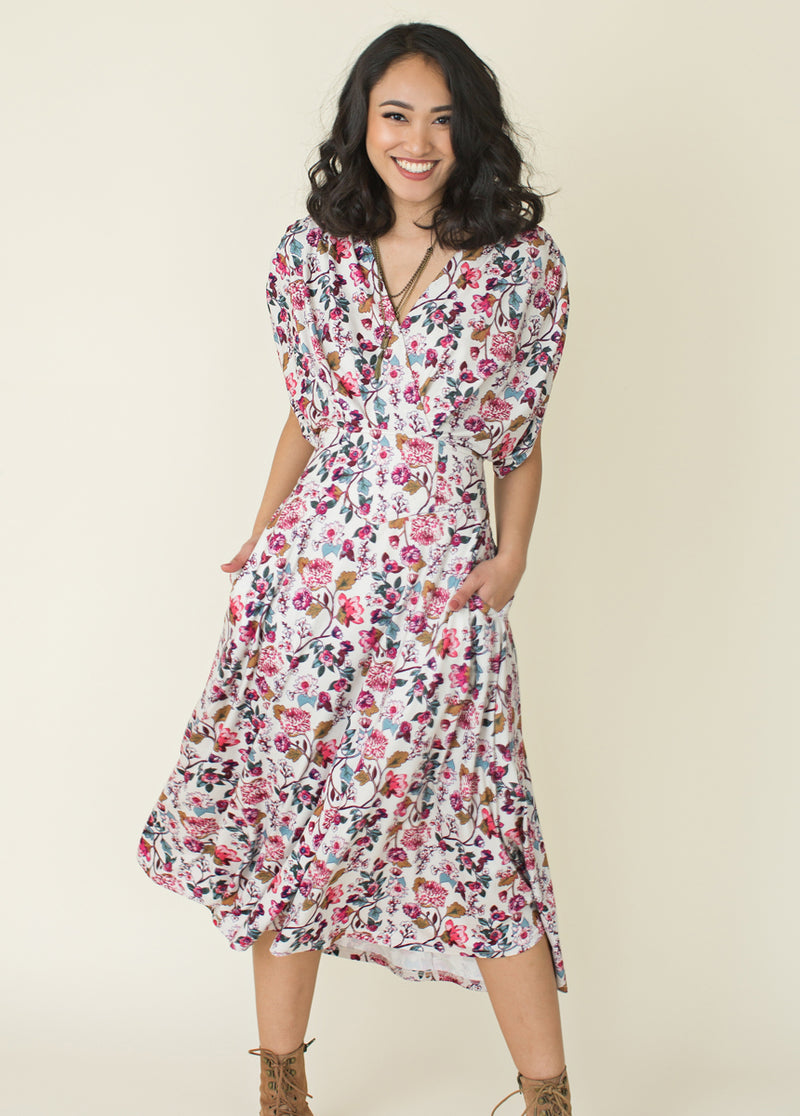 Katia Dress in Multi Floral