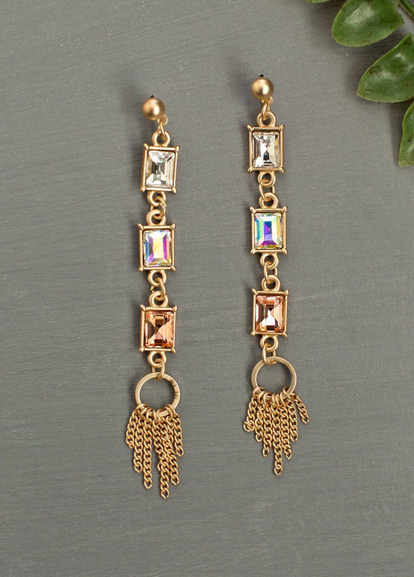 *NEW* Katrina Earrings in Pink