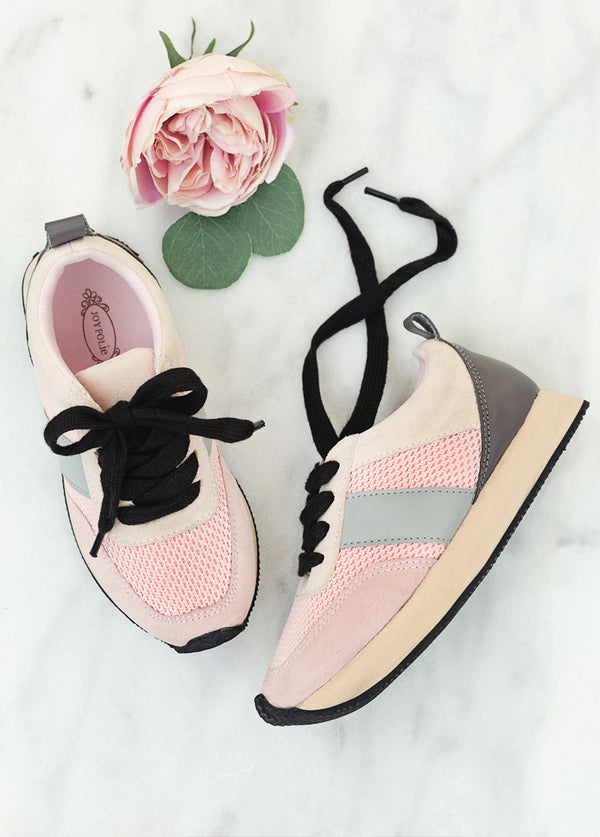 *NEW* Kayslin Sneaker in Blush