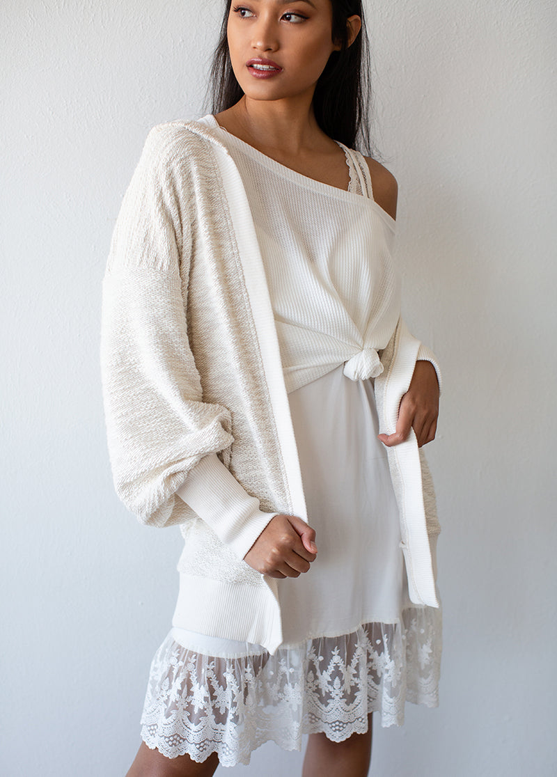 *NEW* Kelsi Cardigan in Oatmeal
