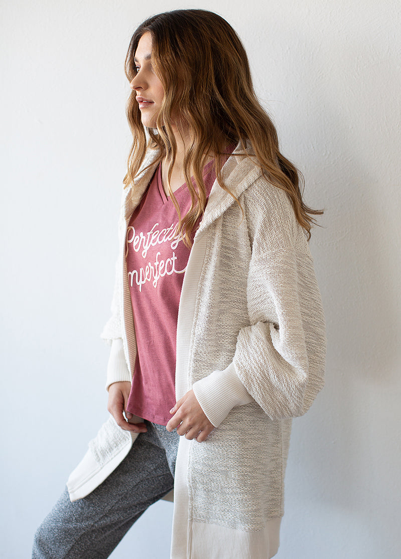 Women's Perfectly Imperfect Tee in Mauve