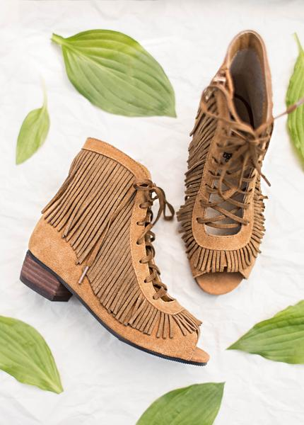 Dakota Fringe Booties