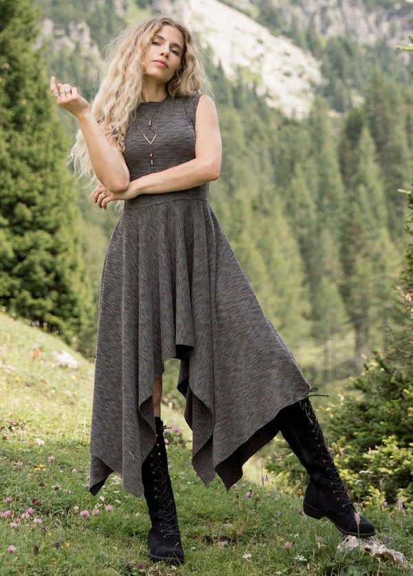 *NEW* Kimber Dress in Charcoal