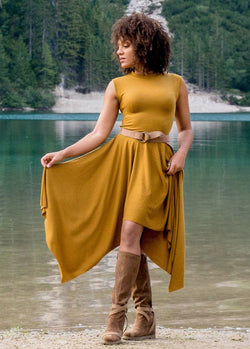 *NEW* Kimber Dress in Mustard