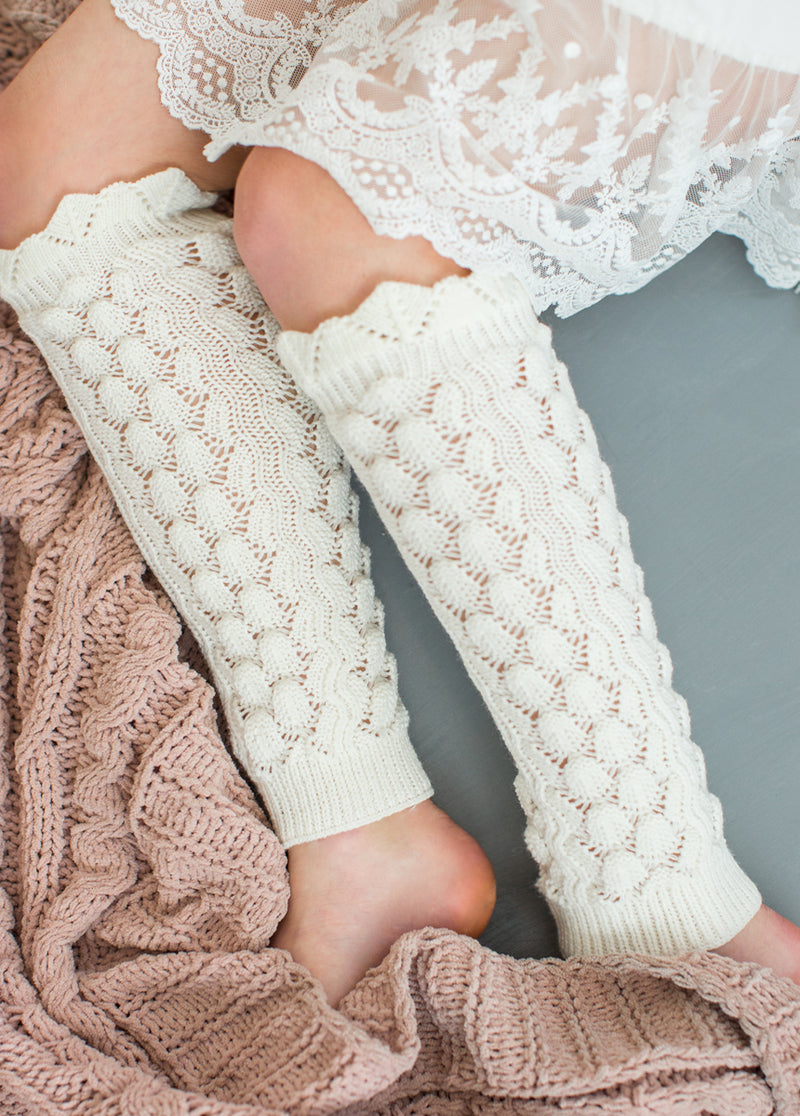 Carson Leg Warmer in Cream