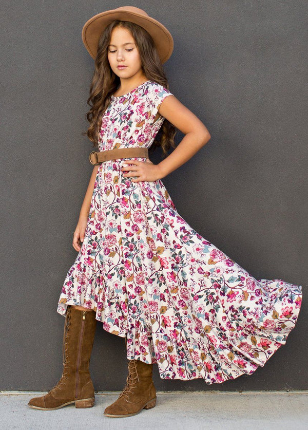 *NEW* Liza Dress in Multi Floral