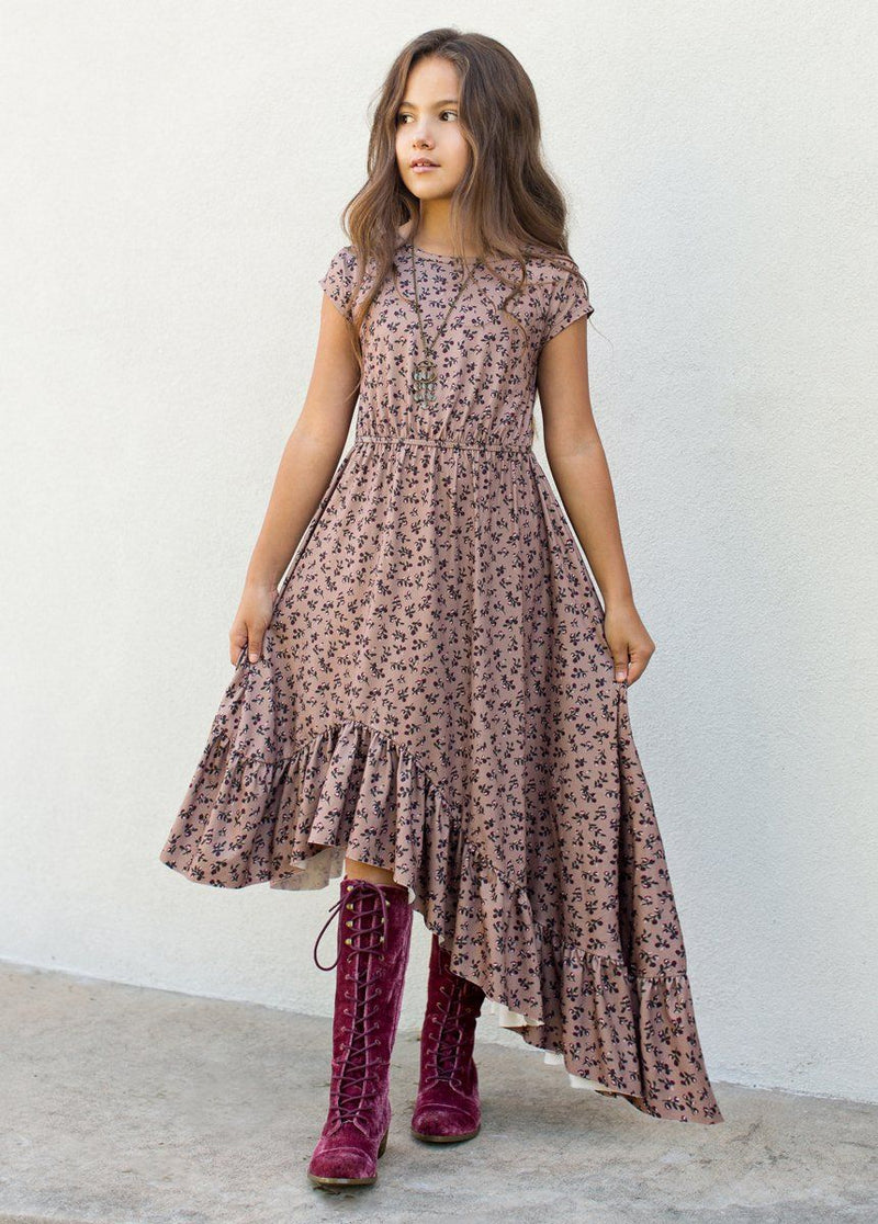 Liza Dress in Ditsy Floral