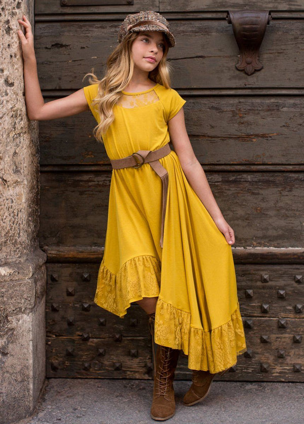 *NEW* Liza Dress in Mustard