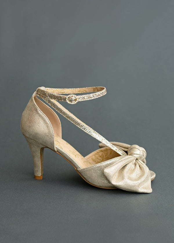 *NEW* Lucinda Heel in Gold
