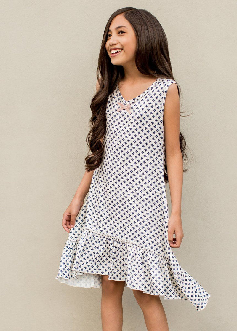 Lulu Nightgown in Diamond Geo