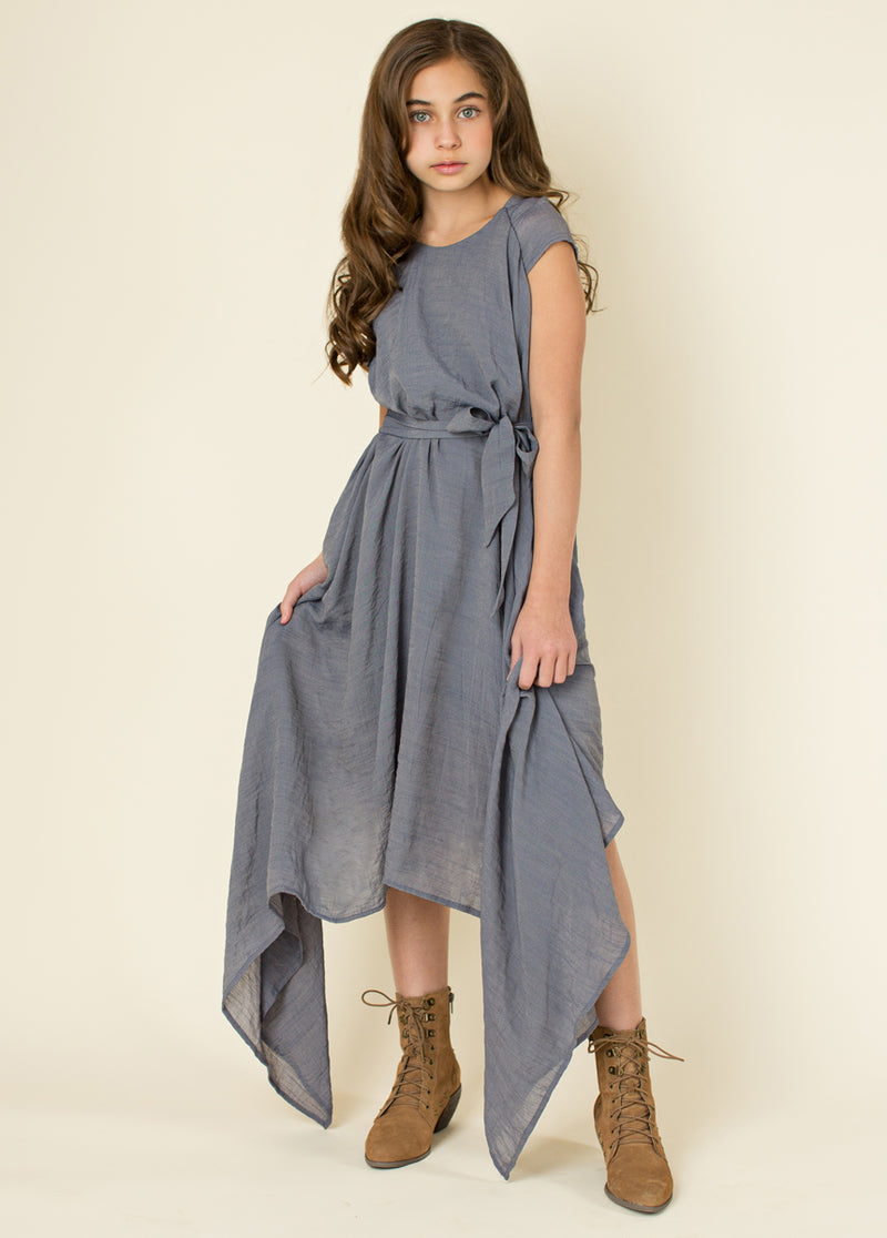 *NEW* Millie Dress in Chambray