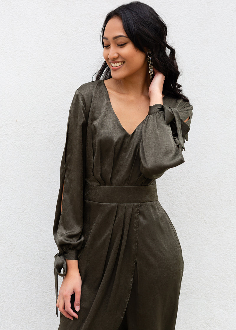 Marcella Dress in Olive