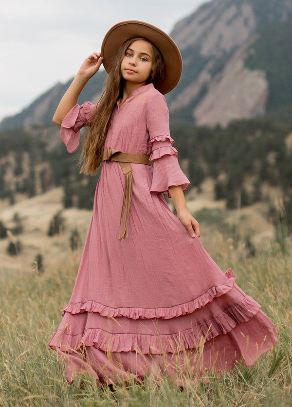 *NEW* Mariana Dress in Dusty Rose